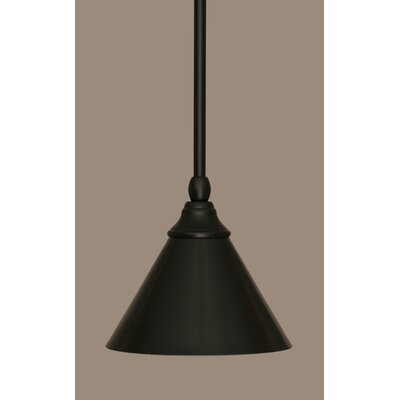 Bednar 1-Light Mini Pendant Finish: Matte Black
