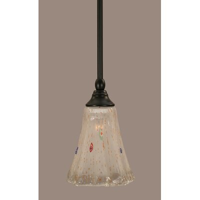 Stem 1-Light Mini Pendant Shade Color: Frosted