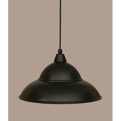 1-Light Mini Pendant Size: 8.5 H x 16 W