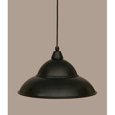 1-Light Mini Pendant Size: 8.5 H x 16 W