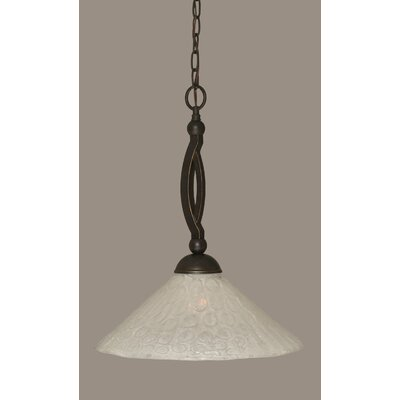 Eisenhauer 1-Light Stainless Steel Pendant