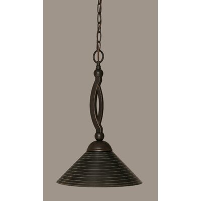 Bow 1-Light Pendant