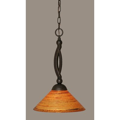 Blankenship 1-Light Stainless Steel Pendant