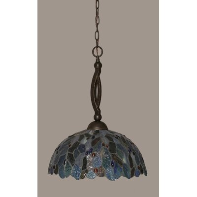 Austinburg 1-Light Metal Pendant