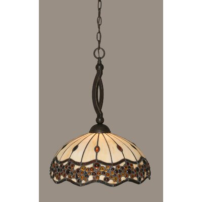 Austinburg Tiffany 1-Light Pendant
