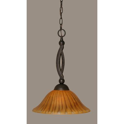 Blankenship 1-Light 150W Pendant