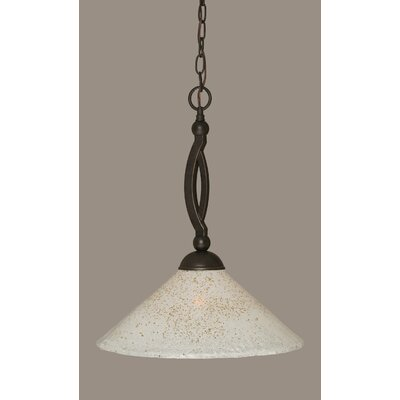 Blankenship 1-Light Adjustable Pendant