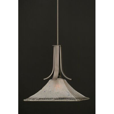 Elburn 1-Light Graphite Mini Pendant