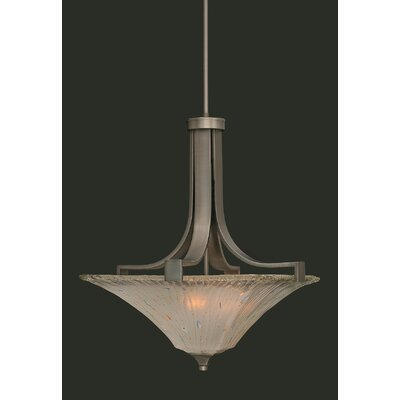 Elburn 3-Light Pendant With Hang Straight Swivel
