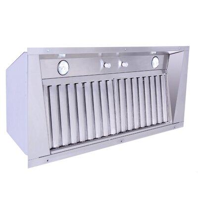 Furniture-40 1200 CFM Power Pack Hood Insert