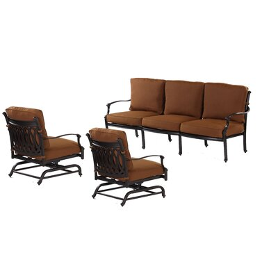 Newport 13 Piece Deep Seating Group with Cushion