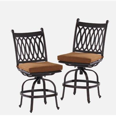 Newport 23 Bar Stool with Cushion Upholstery Type: Sunbrella - Teak