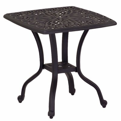 Windsor Square Cast Aluminum Chat Table