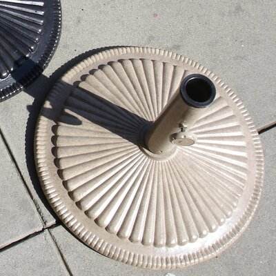 Free Standing Aluminum Shell Umbrella Base Finish: Desert Bronze