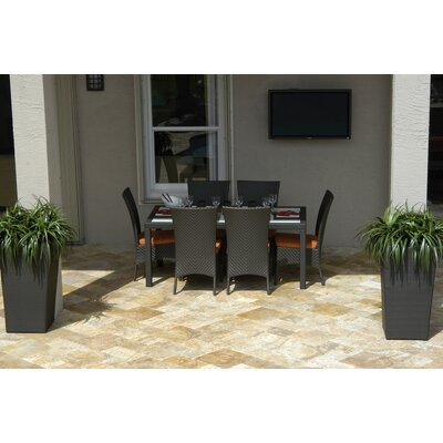 Kannoa Marbella 7 Piece Dining Set Best Price