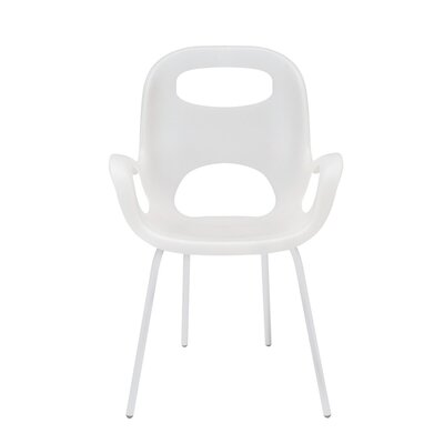 OH Lounge Chair Upholstery: White