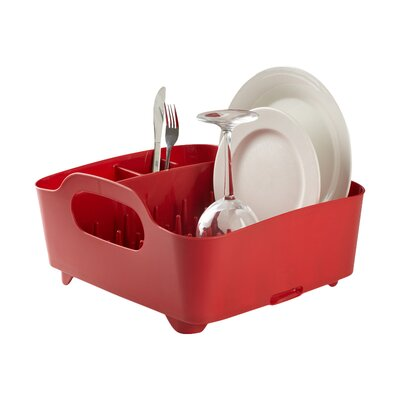 Tub Dish Rack Finish: Red