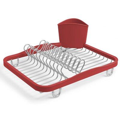 Sinkin Dish Rack Finish: Red