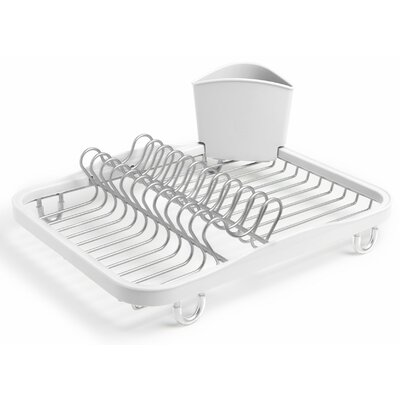 Sinkin Dish Rack Finish: White