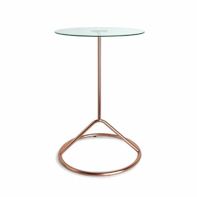 Loop End Table Color: Copper