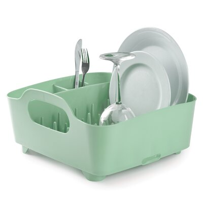 Tub Dish Rack Finish: Mint