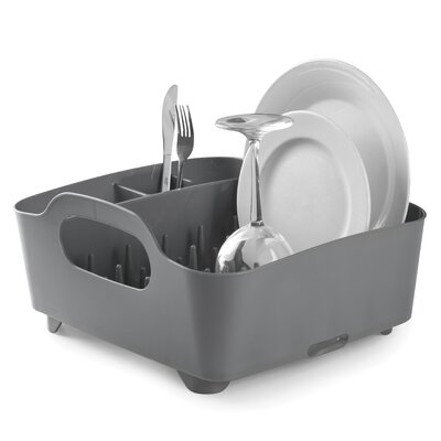Tub Dish Rack Finish: Charcoal