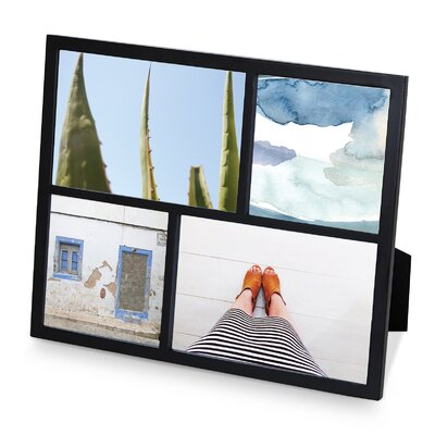 Senza Multi Picture Frame Color: Black 1004211-040
