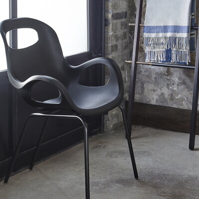 OH Lounge Chair Upholstery: Black