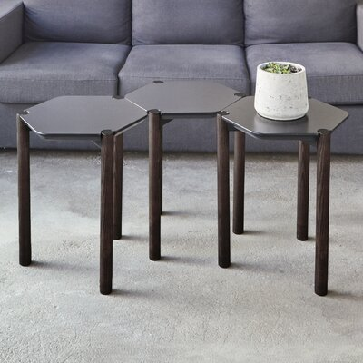 Lexy End Table Color: Black