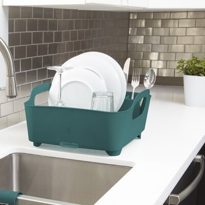 Tub Dish Rack Finish: Teal