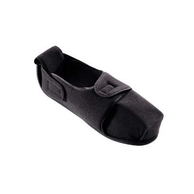 Silvert's Unisex Non-Constrictive Diabetic Slipper in Black - Size: Large at Sears.com