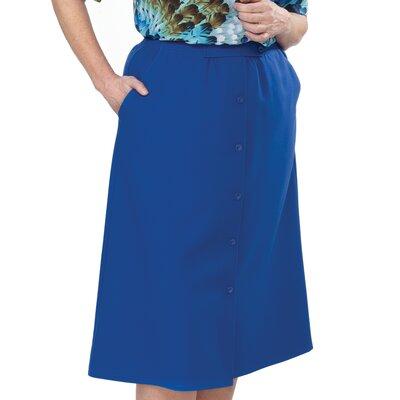 Silvert's Women's Elastic Waist Skirt - Size / Color: 14 / Navy at Sears.com
