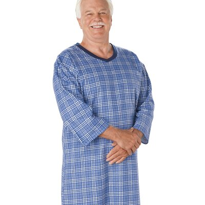 Silvert's Mens Flannel Patient Gown - Size: 3XL at Sears.com