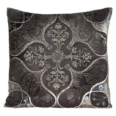 Persian Velvet Throw Pillow Color: Smoke