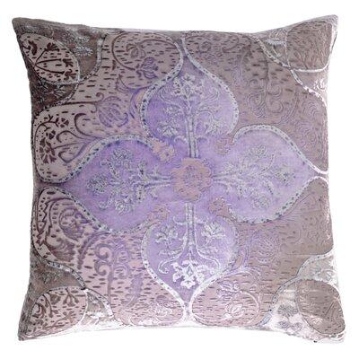 Persian Velvet Throw Pillow Color: Iris