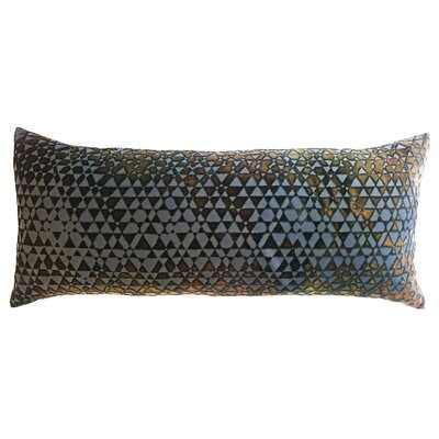 Triangles Velvet Boudoir Pillow