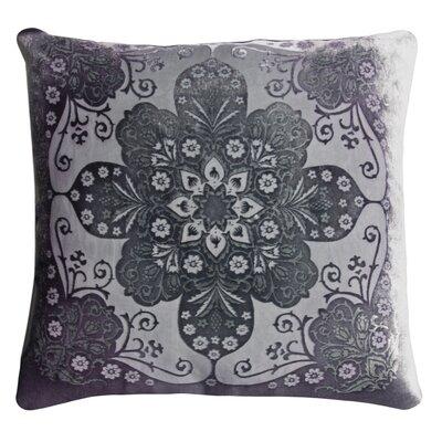 Moroccan Velvet Throw Pillow Color: Aubergine