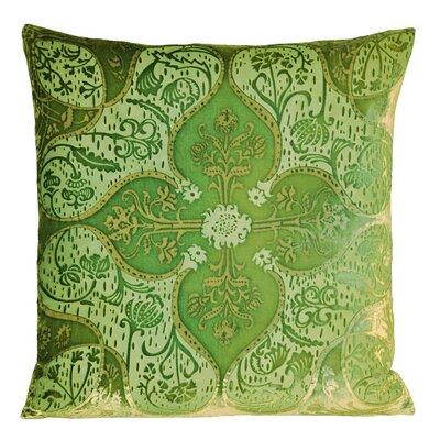 Persian Velvet Throw Pillow Color: Grass