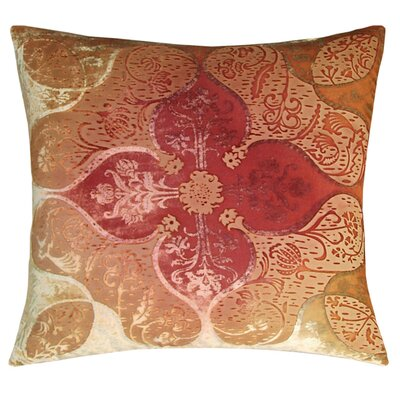 Persian Decorative Pillow in Pink / Gold