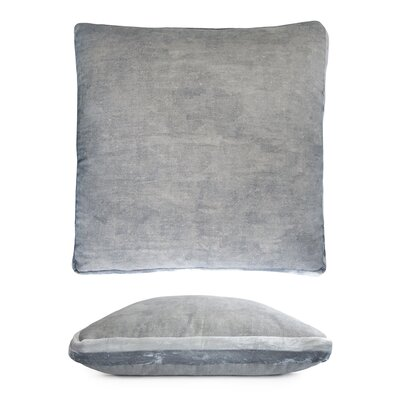 Double Tuxedo Pillow Color: Seaglass