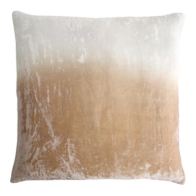 Dip Dye Velvet Pillow Color: Nickel