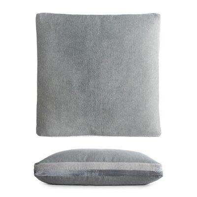 Double Tuxedo Pillow Color: Sage