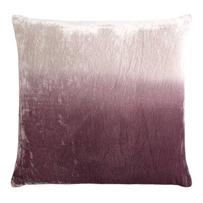 Dip Dye Velvet Pillow Color: Wisteria