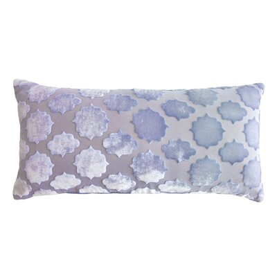 Mod Fretwork Velvet Mini Boudoir Pillow