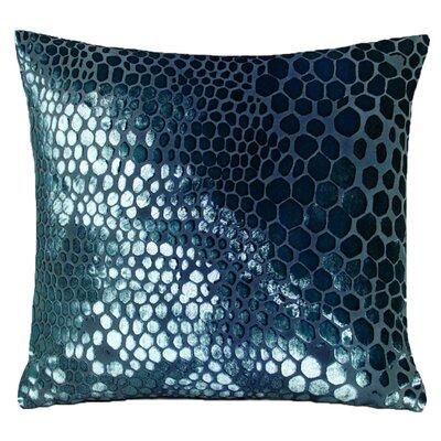 Snakeskin Throw Pillow Color: Shark