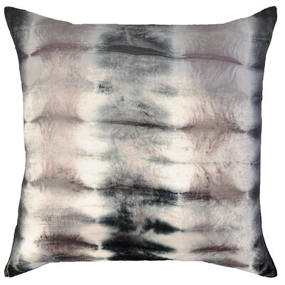 Rorschach Velvet Throw Pillow Color: Sterling, Size: 22 H x 22 W