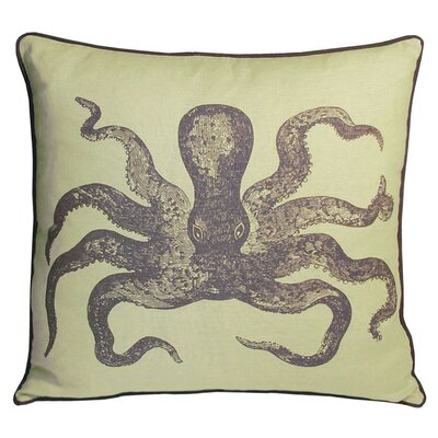 Nauticals Cuttlefish Pillow Color: Aquarium