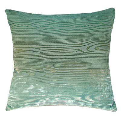 Woodgrain Velvet Throw Pillow Color: Antique, Size: 18 H x 18 W x 4 D