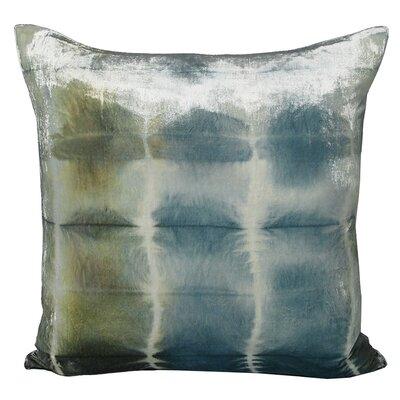 Rorschach Velvet Throw Pillow Color: Ice, Size: 18 H x 18 W