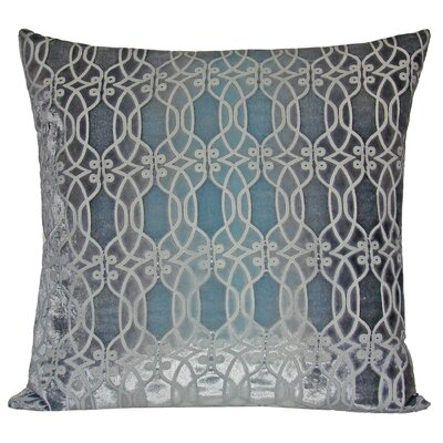 Links Throw Pillow Color: Shark, Size: Medium